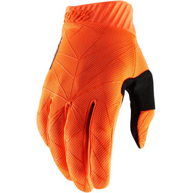 100% Ridefit FA18 Cykelhandsker, orange/black